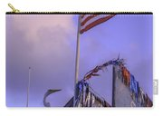 Patriotic Egret Carry-all Pouch