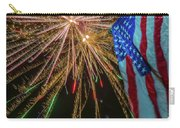 Patriotic Fireworks Carry-all Pouch