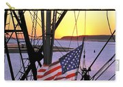 Patriotic Fisherman Carry-all Pouch