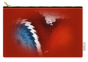 Patriotic Heart Carry-all Pouch