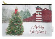 Patriotic Merry Christmas Carry-all Pouch