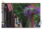 Patriotic Street In Philadelphia Carry-all Pouch