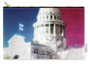 Patriotic Texas Capitol Carry-all Pouch