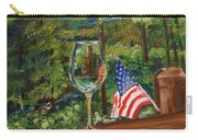 Star Spangled Wine - Fourth Of July - Blue Ridge Mountains Carry-all Pouch