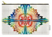 Pattern Art - Color Fusion Design 1 By Sharon Cummings Carry-all Pouch