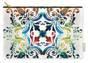 Pattern Art - Color Fusion Design 7 By Sharon Cummings Carry-all Pouch