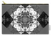 Pattern In Black White Carry-all Pouch by Deleas Kilgore