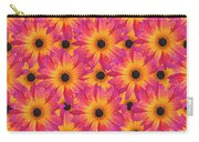 Pattern Of African Daisies Carry-all Pouch