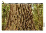 Patterned Redwood Carry-all Pouch