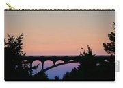 Patterson Bridge Sunrise Carry-all Pouch