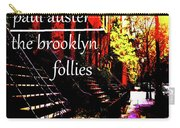 Paul Auster Poster Brooklyn  Carry-all Pouch