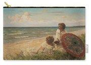 Paul Fischer, 1860-1934, Girls On The Beach Carry-all Pouch