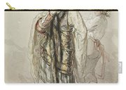 Paul Gavarni French, 1804-1866 Actors Carry-all Pouch
