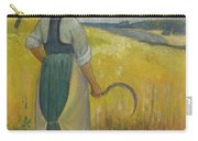 Paul Serusier 1864 - 1927 Breton Young To Sickle Carry-all Pouch