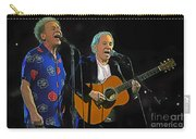 Paul Simon And Art Garfunkel Digital Painting Carry-all Pouch