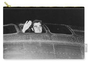 Paul Tibbets In The Enola Gay Carry-all Pouch