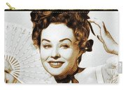 Paulette Goddard, Hollywood Legend Carry-all Pouch