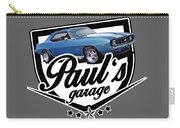 Pauls Garage Camaro Carry-all Pouch