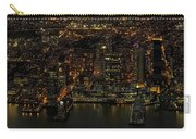 Paulus Hook, Jersey City Aerial Night View Carry-all Pouch
