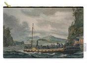Pavel Petrovich Svinin, 1787 -1839, Steamboat Travel On The Hudson River Carry-all Pouch