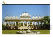 Pavilion And Fountain, Udaipur, India Carry-all Pouch