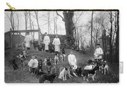 Pavlovs Dogs With Their Keepers, 1904 Carry-all Pouch
