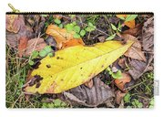 Paw Paw Leaf Fall Colors Carry-all Pouch
