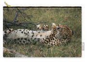 Paws Up Cheetah Carry-all Pouch