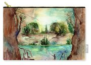 Paysage With A Boat Carry-all Pouch