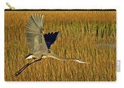 Pb296601 Great Blue Heron Carry-all Pouch