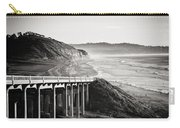 Pch Scenic In Black And White Carry-all Pouch