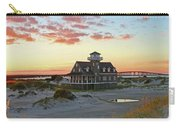 Oregon Inlet Life Saving Station 2687 Pano Signed Carry-all Pouch