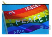 Peace - Paz - Paix Carry-all Pouch