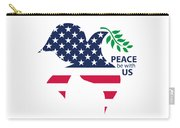 Peace Be With Us Carry-all Pouch
