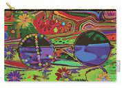 Peace Art Carry-all Pouch by Eleni Mac Synodinos