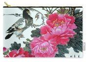 Peace Flowers Carry-all Pouch