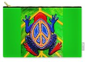 Peace Frog Too Carry-all Pouch