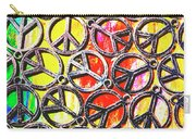 Peace In All Colours Carry-all Pouch