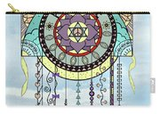 Peace Kite Dangle Illustration Art Carry-all Pouch