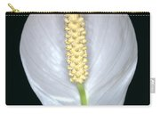 Peace Lily In Flower. Carry-all Pouch