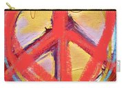 Peace Love  Art Carry-all Pouch