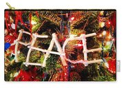 Peace Ornament Carry-all Pouch