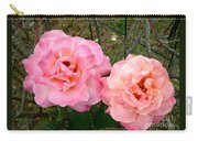 Peace Roses Carry-all Pouch