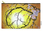 Peace Tree In Golden Glow  Carry-all Pouch