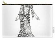 Peace Woman Wild Ink Carry-all Pouch