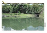 Peaceful Bridge In Tokyo Park Carry-all Pouch