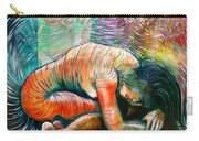 Peaceful Flow - Reclining Nude Carry-all Pouch