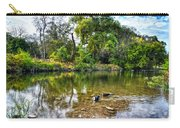 Peaceful Morning On Cibolo Creek Carry-all Pouch