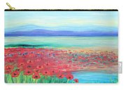 Peaceful Poppies Carry-all Pouch