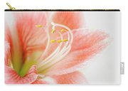 Peach Amaryllis Carry-all Pouch
